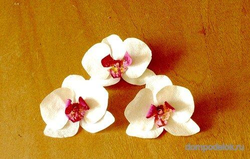 Орхидея бумаги своими руками