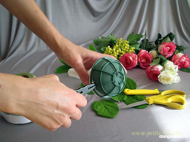 Составление букетов из живых цветов: правила. Букеты из цветов 88