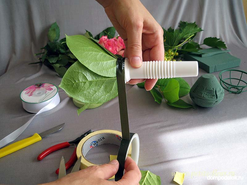Флористическая губка как сделать букет, магазин краснодаре