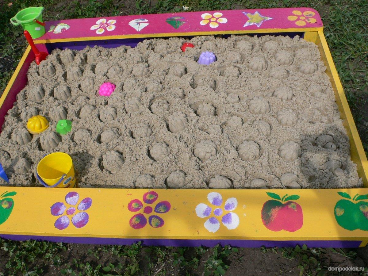 Как сделать песочницу из бумаги фото 520
