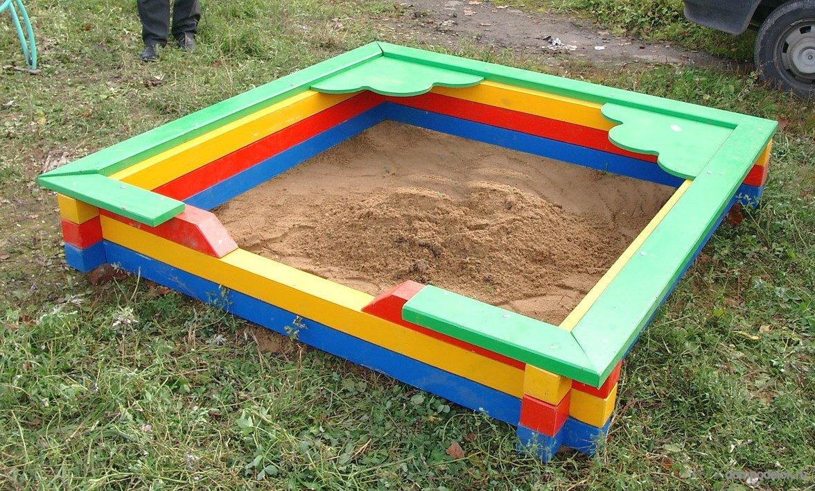 Как сделать песочницу из бумаги фото 867