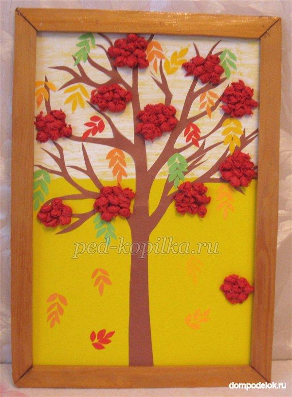 Пособие дерево времена года своими руками 65