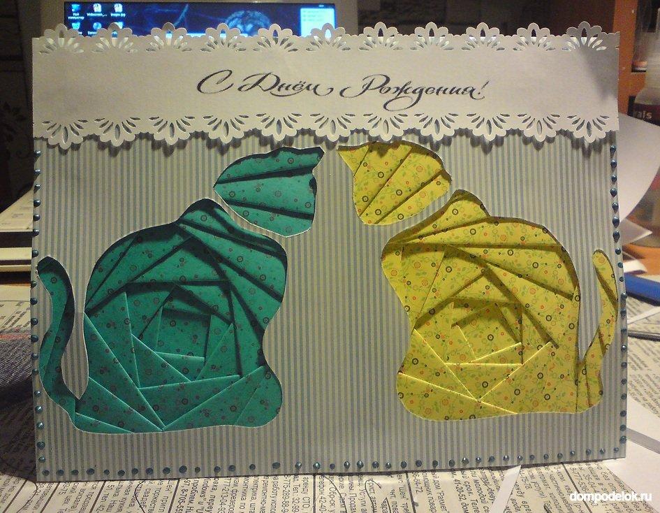 Букеты цветов, готовые открытки из картона