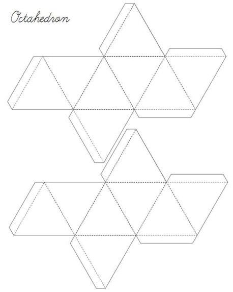 Поделки из геометрических фигур - разнообразие и варианты 88