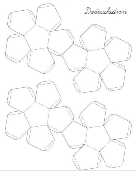 Поделки из геометрических фигур - разнообразие и варианты 82