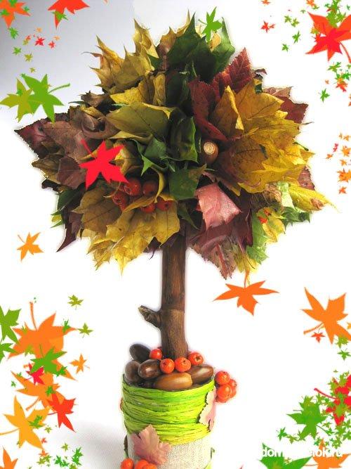 Гербарий своими руками Осенний листопад. Мастер-класс с 30