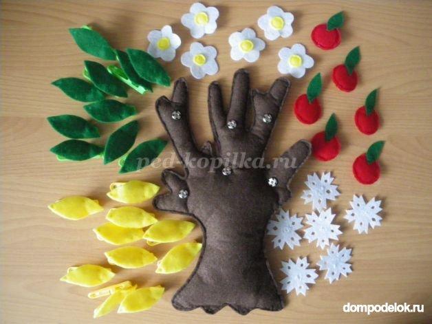Зимние поделки своими руками для детского сада 71