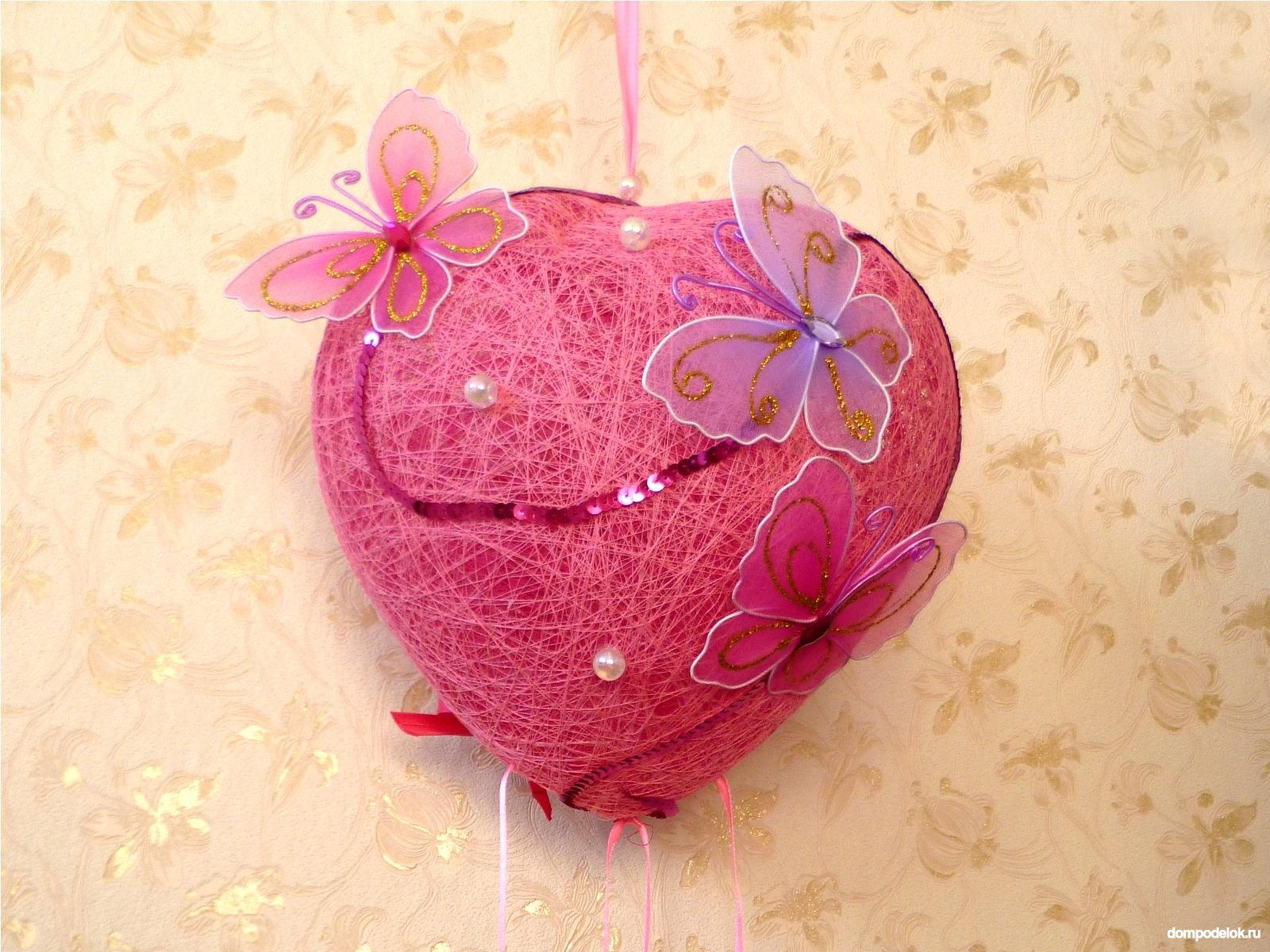 Сердце к дню святого валентина своими руками