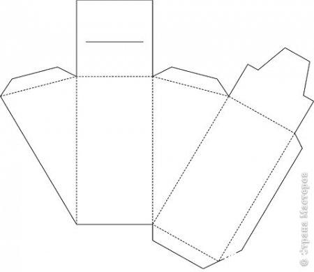 Схема торт из бумаги своими руками