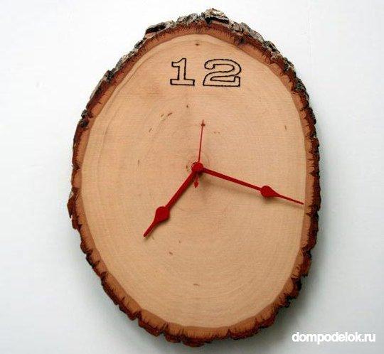 Часы из дерева настенные своими руками
