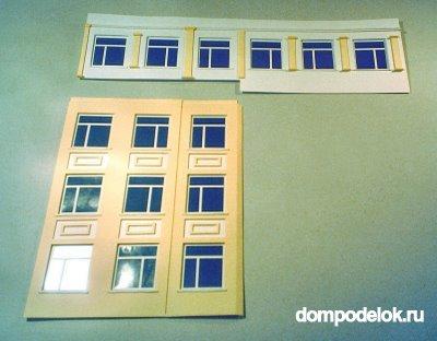 Макет окна со шторами своими руками из картона