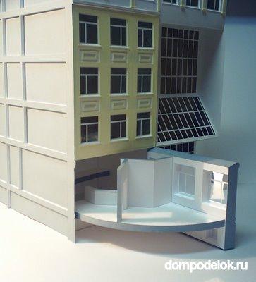 Макет здания