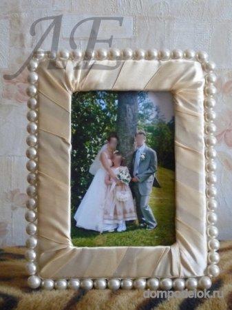 Свадебная рамка для фотографий