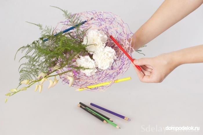 Ножку для цветов своими руками из бумаги фото 116