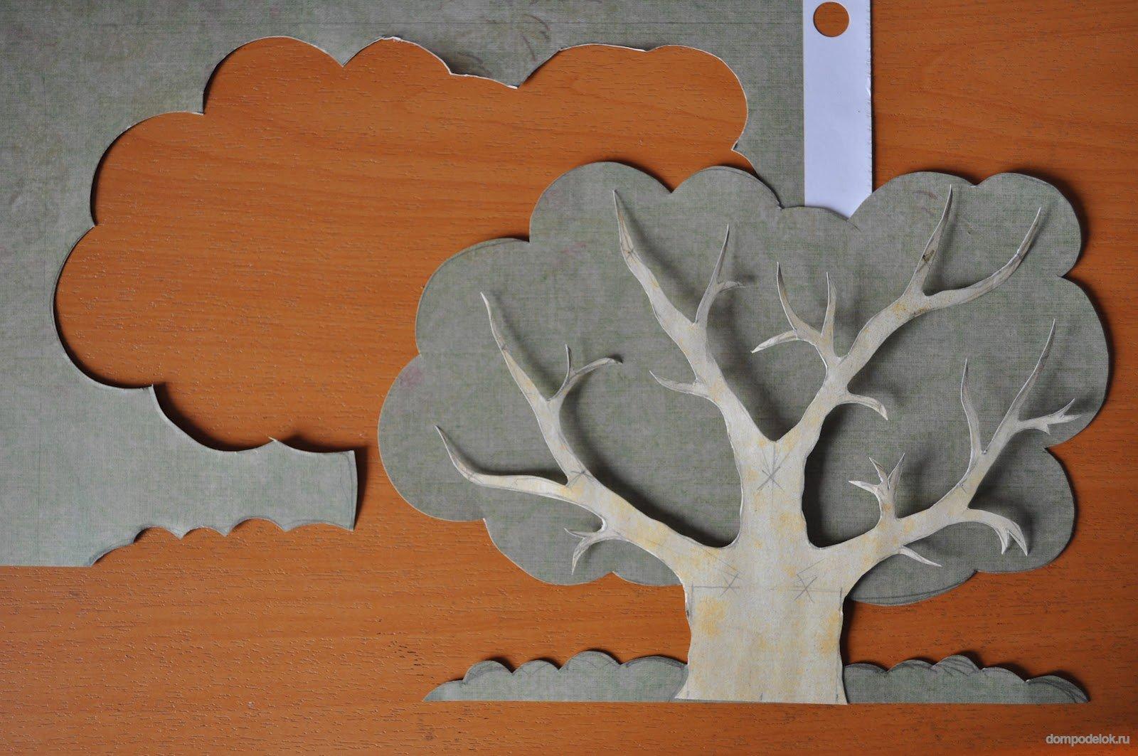 Сделать дерево для садика своими руками фото 570