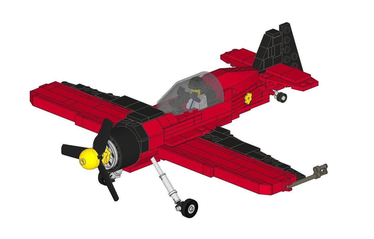 Лего самолет поделка