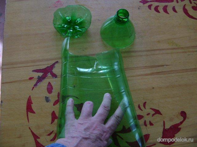 Поделки из пластиковых бутылок для туалетной бумаги 5
