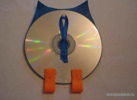 Мастер класс поделки из cd