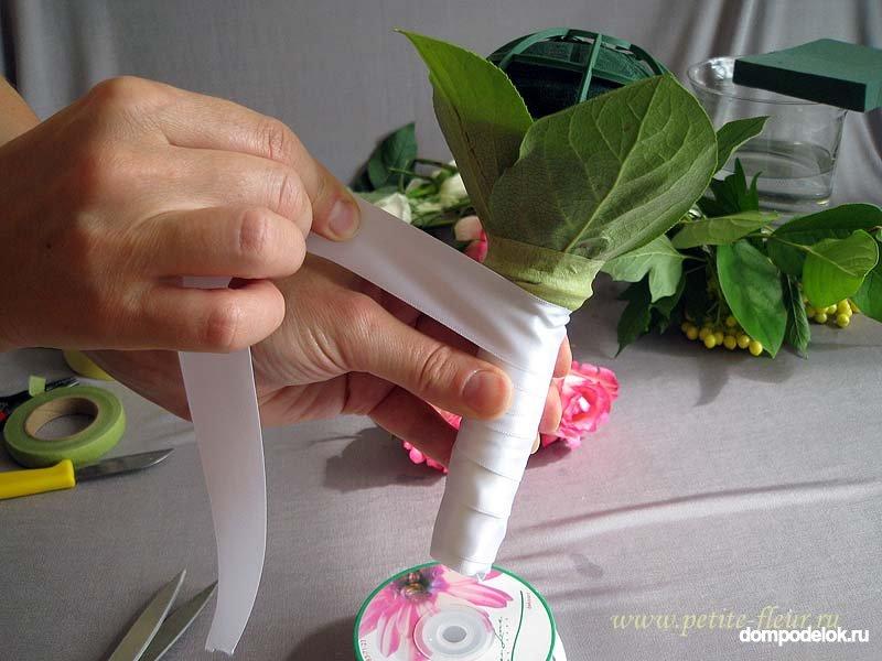 Мастер класс букеты из конфет как сделать профбукетницу