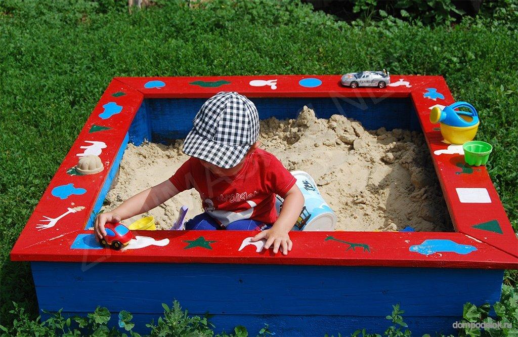 Детские песочницы своими руками