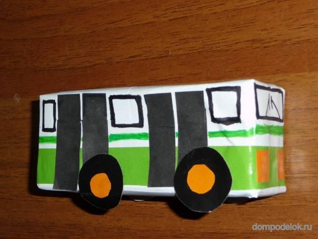 Транспорт для детей своими руками 3