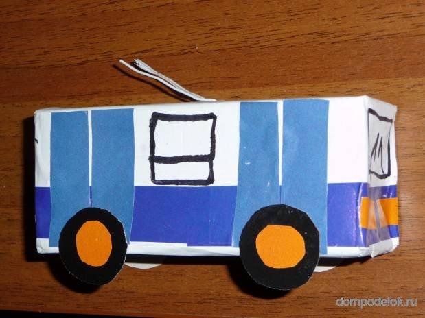 Транспорт для детей своими руками 96