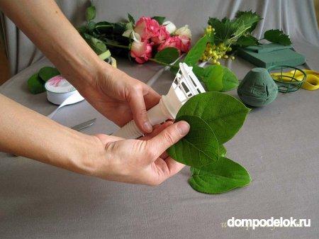 Как сделать букет для невесты самой