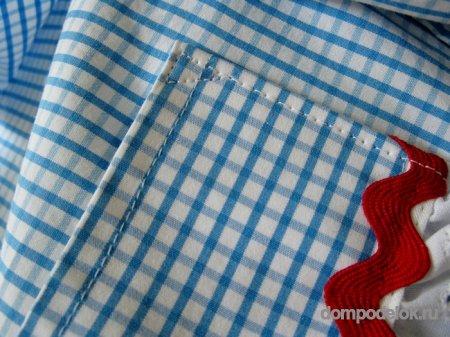 Поделка рубашки из бумаги