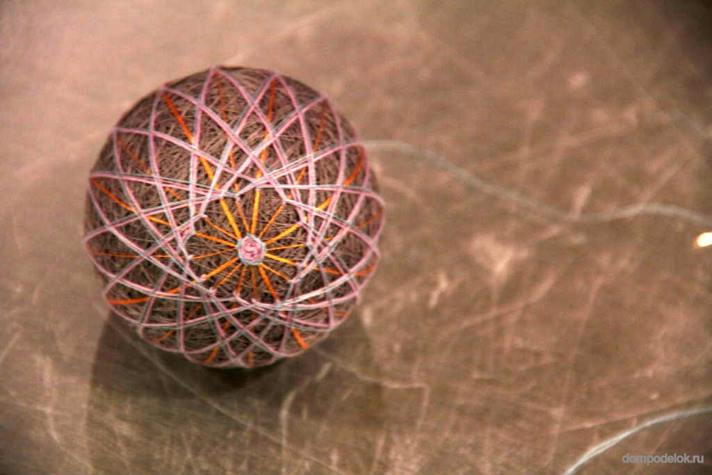 Поделки из шаров с нитками