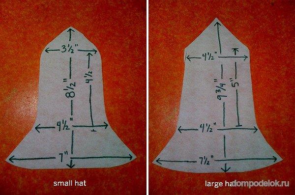 Как сшить шапочка колокольчик 13