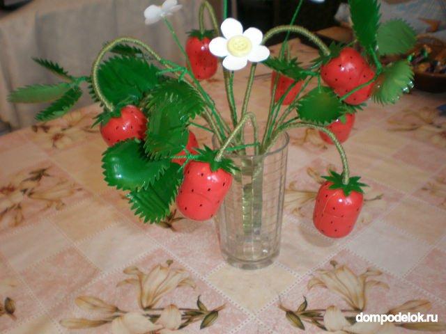 Цветы своими руками из бутылок фото