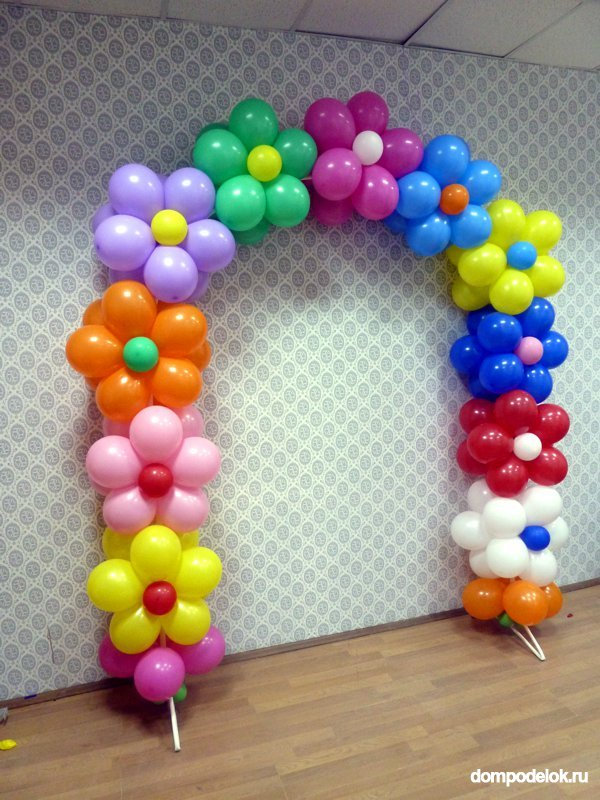 Гирлянда из шаров своими