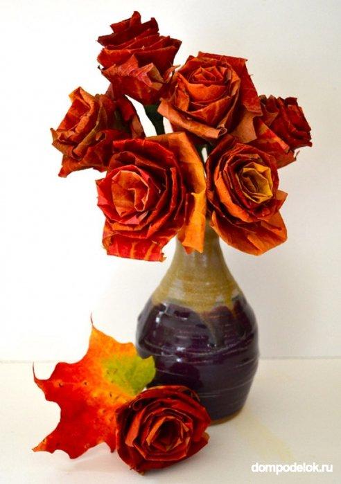 Подарок своими руками розы из бумаги