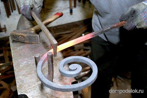 Инструменты своими руками для художественной ковки