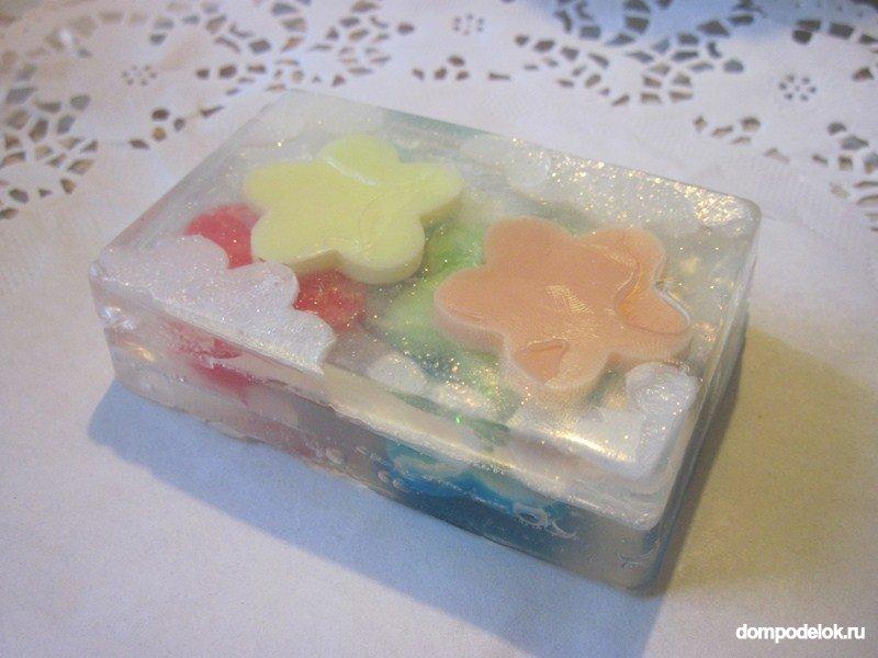 Как сделать мыло поделки