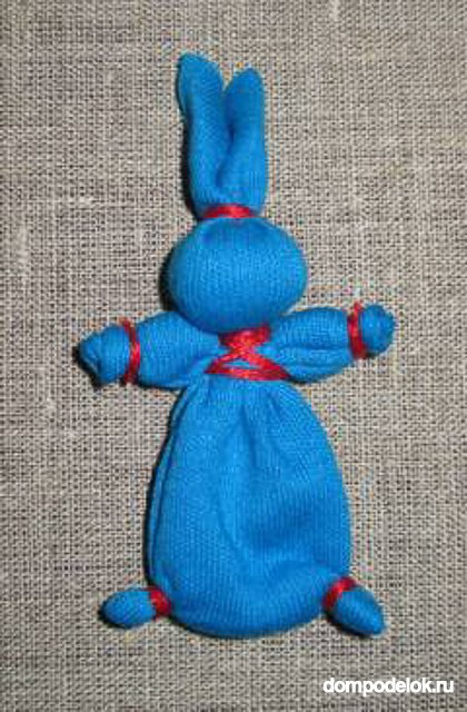 Кукла зайчик для ребенка своими руками