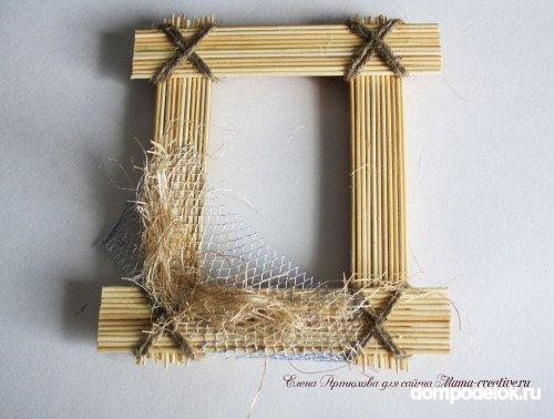 Декор рамки под своими руками