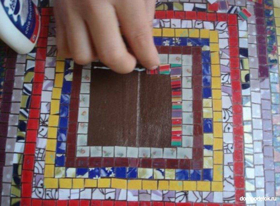 Мозаика своими руками на двери