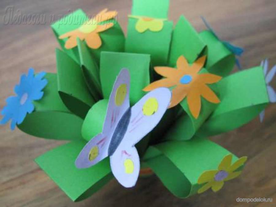 Поделки для сада своими руками из бумаги