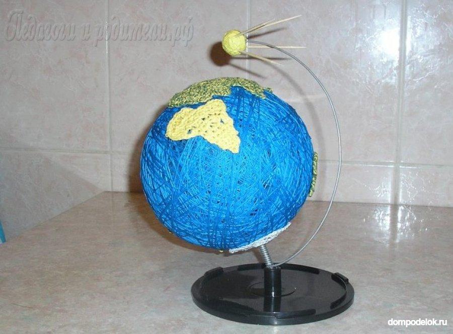 Глобус своими руками мастер класс