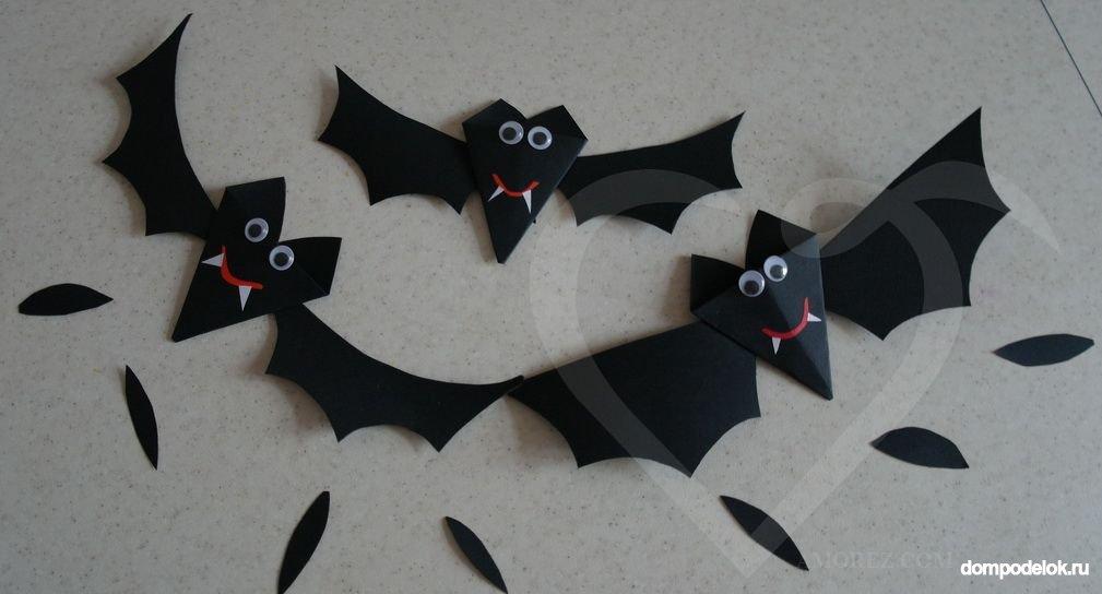 Летучей мыши на хэллоуин своими руками