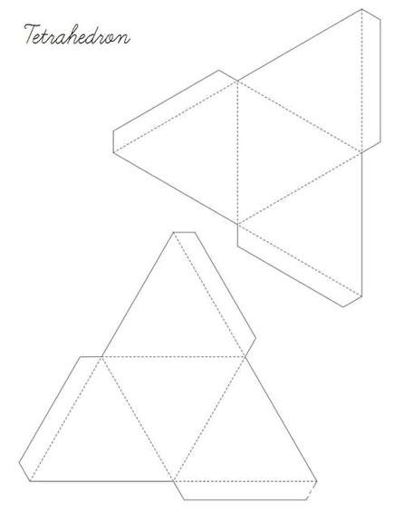 Как сделать геометрические фигуры из бумаги своими