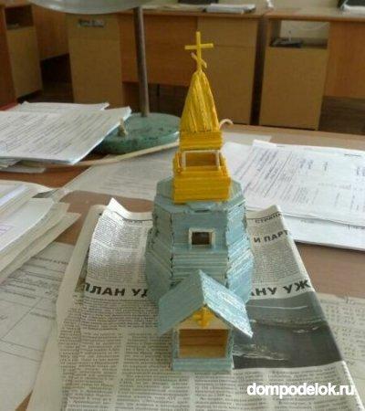 Храмы из бумаги фото своими руками