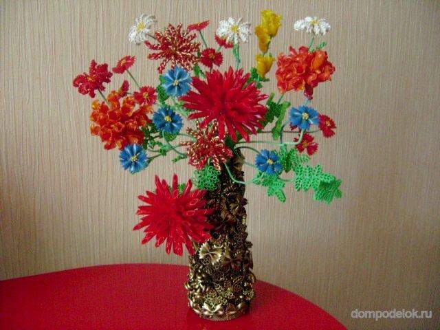 Поделки для цветов своими руками фото