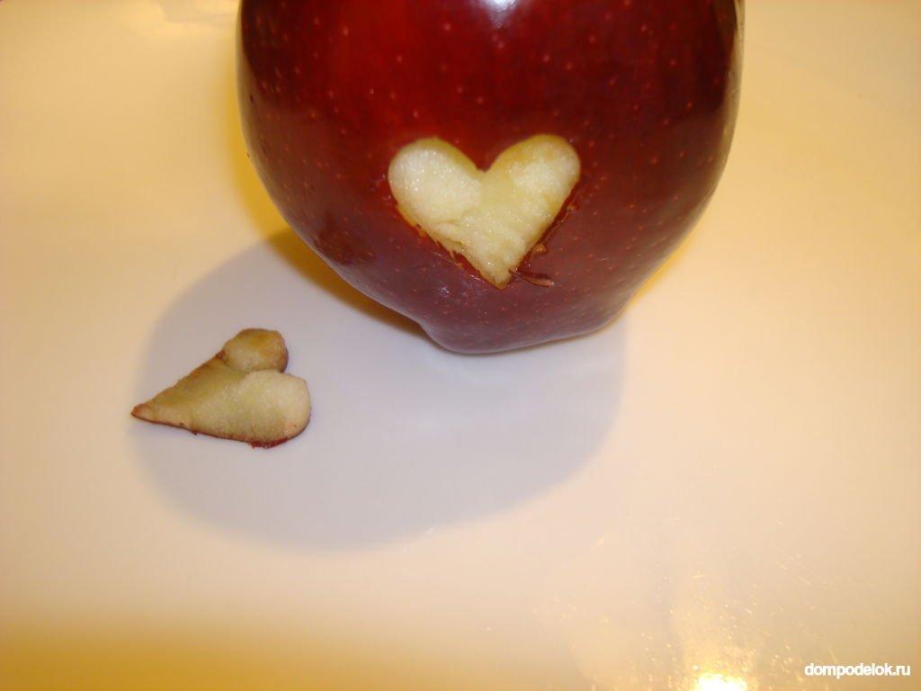Поделки из красных яблок