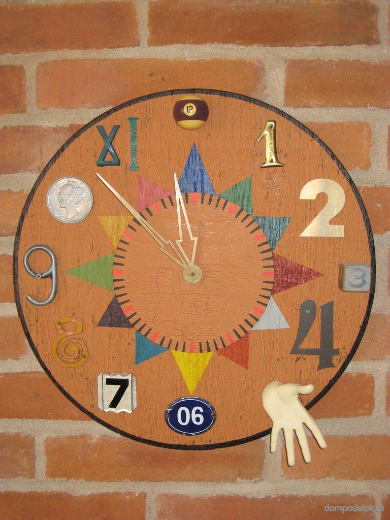 Часы своими руками техника