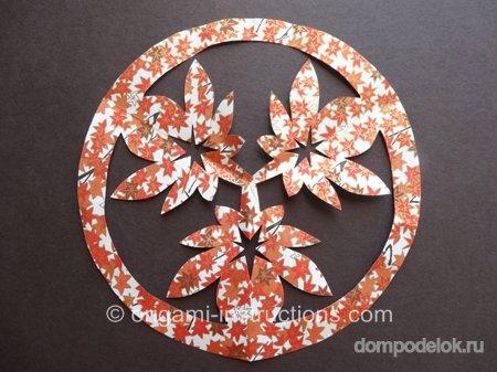 Поделки для мамы киригами