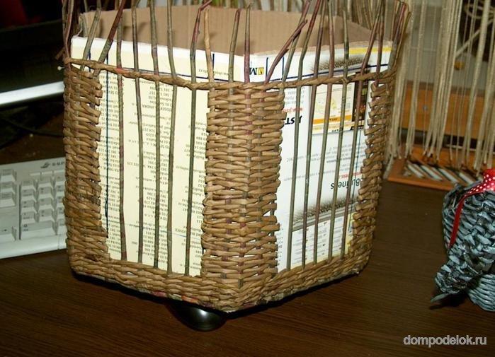 Плетеный домик для птиц своими руками 47