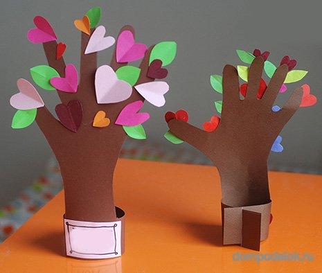 Поделки из бумаги своими руками на день семьи